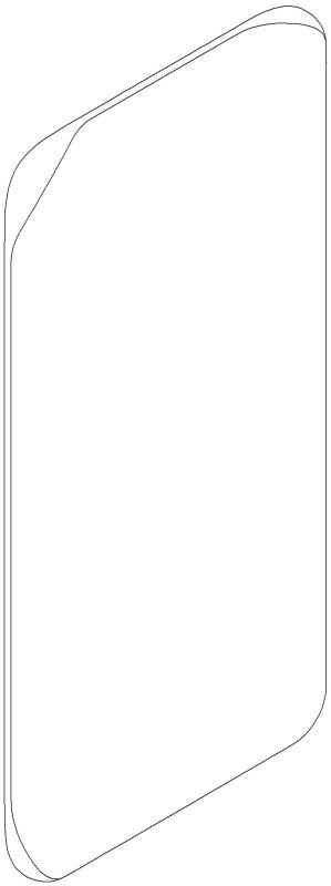 يعرض تطبيق براءات الاختراع من سامسونج هاتفًا بشاشة منحنية رباعية 4