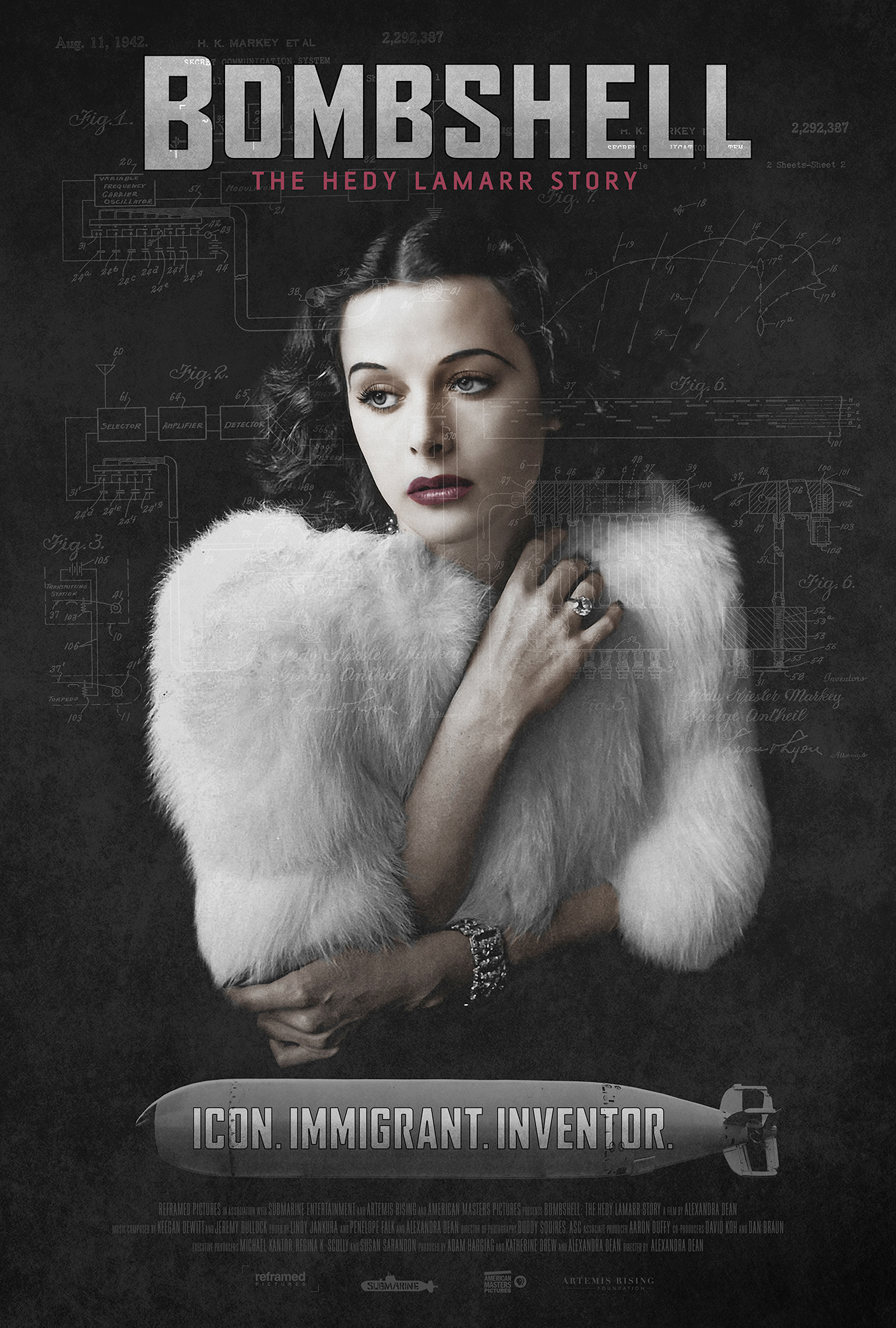 Poster of Bombshell: The Hedy Lamarr Story